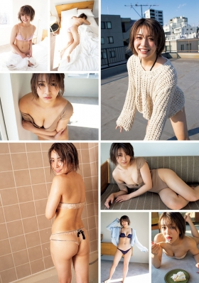 Rie Momose swimsuit underwear gravure college student booming on SNS 2021003