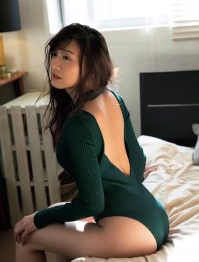 Yukari Oshima Swimsuit Bikini Gravure Former Fuji Television Announcer Monologue 2021004