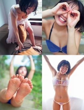 Hiyori Hanasaki swimsuit bikini gravure G cup idol called once in 1000 years loli big tits 2021003