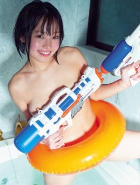 Hiyori Hanasaki swimsuit bikini gravure G cup idol called once in 1000 years loli big tits 2021007