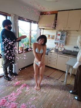 Hiyori Hanasaki swimsuit bikini gravure G cup idol called once in 1000 years loli big tits 2021023