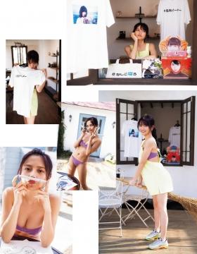 Nakashiko Momotsuki Swimsuit Bikini Gravure Zero Ichi Shoten Store Managers Daily Life 2021003