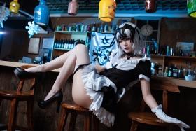 Lingerie Gravure Jeanne dArc Alter Black Maid FGO ate_Grand Orde Cosplay028