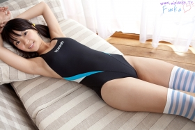 Fuka Nishihama Swimming Race Swimsuit Image Speedo Speedo Black Vol2019