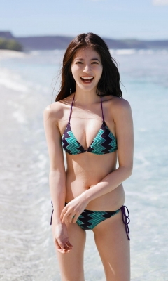 Mio Imada Swimsuit Bikini Gravure Dream Vol3 2018007