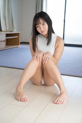 Ayana Nishinaga High Leg White Leotard Swimsuit Swimming Race Swimsuit School Swimsuit013