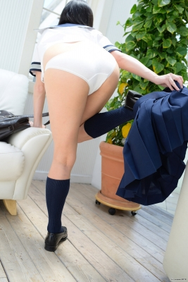 "Ayana Nishinaga White underwear ""50 sheets"" She is the number one beautiful girl081"