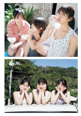 Haruka Arai Riko Otsuki Himena Kikuchi Swimsuit Bikini Gravure Miss Maga 2020 Good friends 3 people 2021004