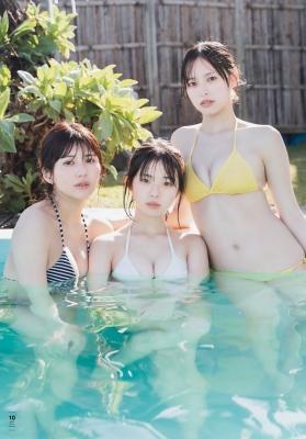 Haruka Arai Riko Otsuki Himena Kikuchi Swimsuit Bikini Gravure Miss Maga 2020 Good friends 3 people 2021011