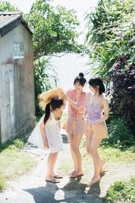 Haruka Arai Riko Otsuki Himena Kikuchi Swimsuit Bikini Gravure Miss Maga 2020 Good friends 3 people 2021013