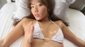 Aya Hazuki swimsuit bikini gravure Daring to put in a photo that might be rejected 2021034