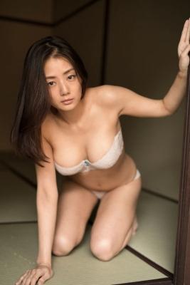 Momi Katayama If I were a man Id probably wear a hand bra009