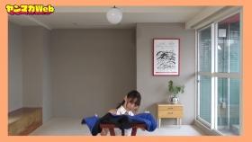 Yuki Mitera in blue swimsuit bikini and table magic 2021036