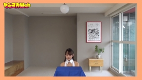 Yuki Mitera in blue swimsuit bikini and table magic 2021045