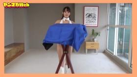 Yuki Mitera in blue swimsuit bikini and table magic 2021071