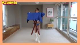 Yuki Mitera in blue swimsuit bikini and table magic 2021077