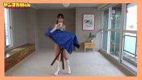 Yuki Mitera in blue swimsuit bikini and table magic 2021098