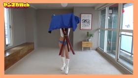 Yuki Mitera in blue swimsuit bikini and table magic 2021101