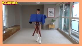 Yuki Mitera in blue swimsuit bikini and table magic 2021102