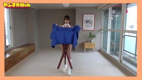 Yuki Mitera in blue swimsuit bikini and table magic 2021103