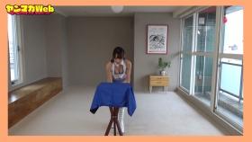 Yuki Mitera in blue swimsuit bikini and table magic 2021110