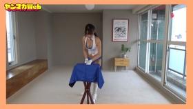 Yuki Mitera in blue swimsuit bikini and table magic 2021111
