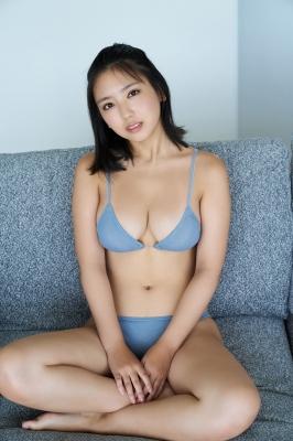 Aika Sawaguchi Swimsuit bikini gravure High school graduation memorial 2021003