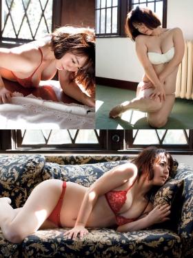 Sayaka Isoyama swimsuit bikini gravure marshmallow body that continues to evolve 2021022
