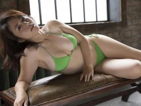 Sayaka Isoyama swimsuit bikini gravure marshmallow body that continues to evolve 2021025