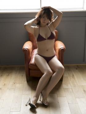 Sayaka Isoyama swimsuit bikini gravure marshmallow body that continues to evolve 2021036