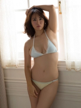 Sayaka Isoyama swimsuit bikini gravure marshmallow body that continues to evolve 2021049