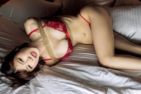 Yu Teshima swimsuit bikini gravure The power of I cup is still there005