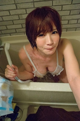 Yu Teshima swimsuit bikini gravure The power of I cup is still there007