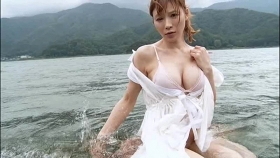 Yu Teshima swimsuit bikini gravure The power of I cup is still there033
