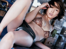Sauri Anzu swimsuit bikini gravure Queen of the neckline with a hint of adult sex appeal 2021006