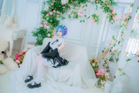Cosplay Swimsuit Style CostumeRe Zero to Hajime Isekai Seikatsu Maid Costume002