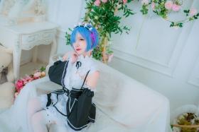 Cosplay Swimsuit Style CostumeRe Zero to Hajime Isekai Seikatsu Maid Costume006