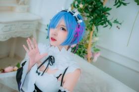 Cosplay Swimsuit Style CostumeRe Zero to Hajime Isekai Seikatsu Maid Costume007
