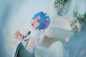 Cosplay Swimsuit Style CostumeRe Zero to Hajime Isekai Seikatsu Maid Costume009