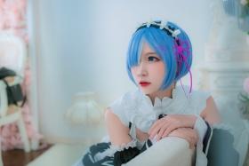 Cosplay Swimsuit Style CostumeRe Zero to Hajime Isekai Seikatsu Maid Costume015