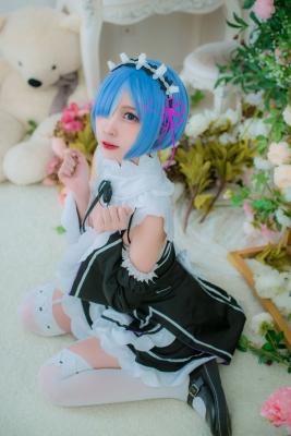 Cosplay Swimsuit Style CostumeRe Zero to Hajime Isekai Seikatsu Maid Costume022