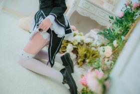 Cosplay Swimsuit Style CostumeRe Zero to Hajime Isekai Seikatsu Maid Costume023