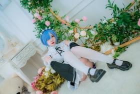 Cosplay Swimsuit Style CostumeRe Zero to Hajime Isekai Seikatsu Maid Costume027