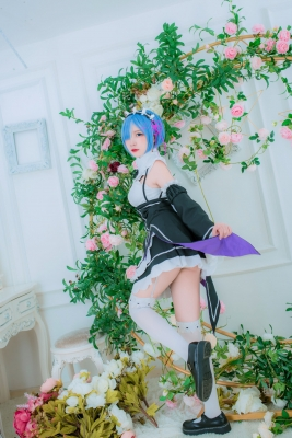 Cosplay Swimsuit Style CostumeRe Zero to Hajime Isekai Seikatsu Maid Costume029