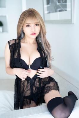 Usatani paisen black swimsuit bikini glamorous sexy body Vol2 2021002