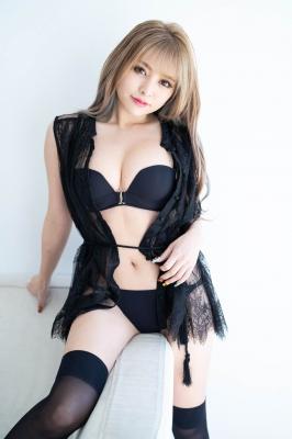 Usatani paisen black swimsuit bikini glamorous sexy body Vol2 2021003