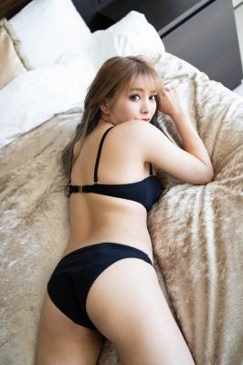 Usatani paisen black swimsuit bikini glamorous sexy body Vol2 2021008