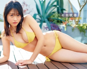 Momoka Ishida Swimsuit Bikini Gravure The cutest soft skin beautiful girl 2021003