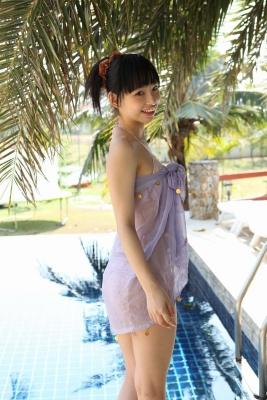 Sena Tsurumaki Swimsuit Bikini Gravure Slender beautiful girl010