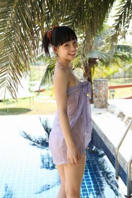 Sena Tsurumaki Swimsuit Bikini Gravure Slender beautiful girl011